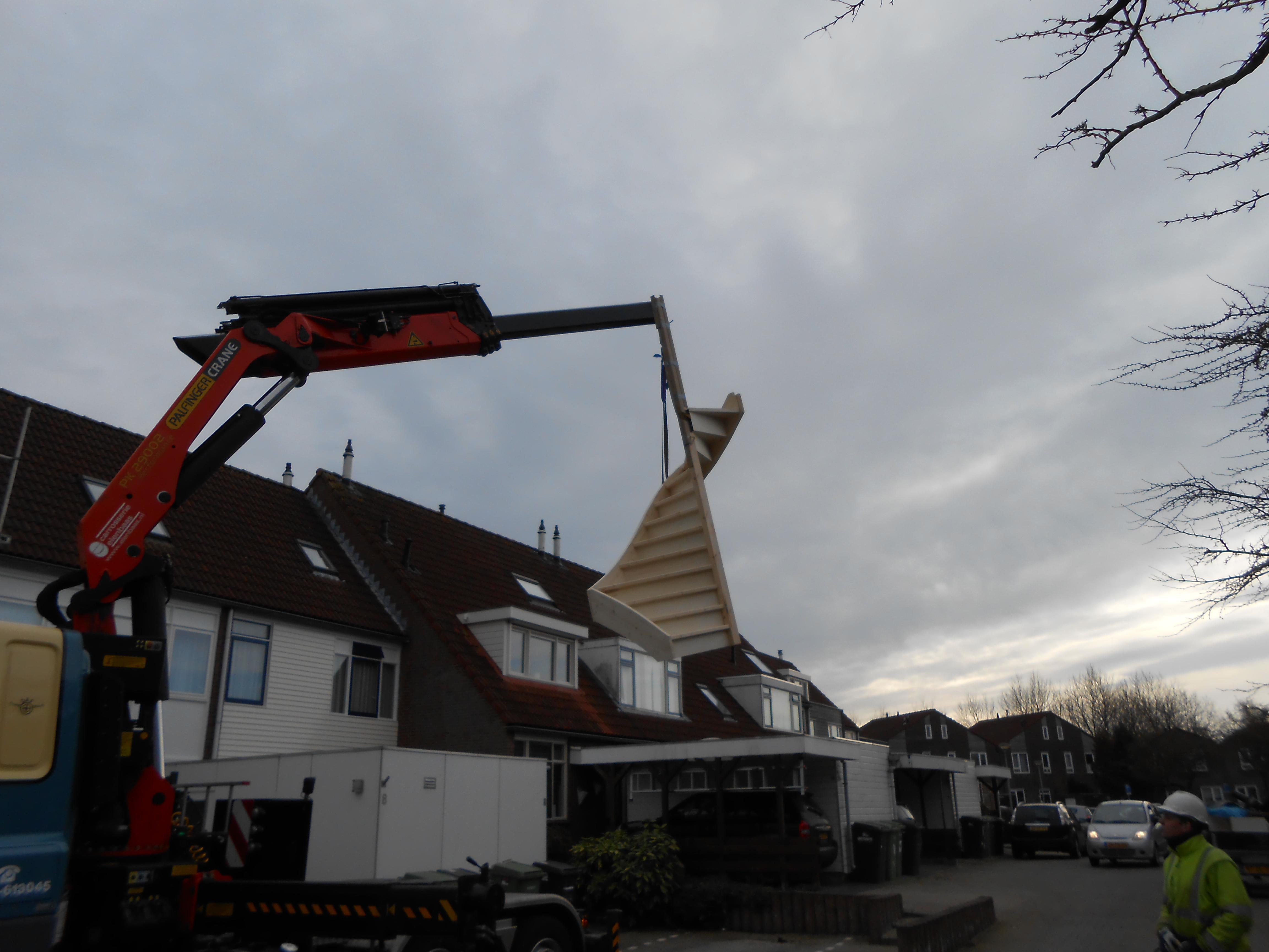 Timmerbedrijf Louwes Splittrap Groningen