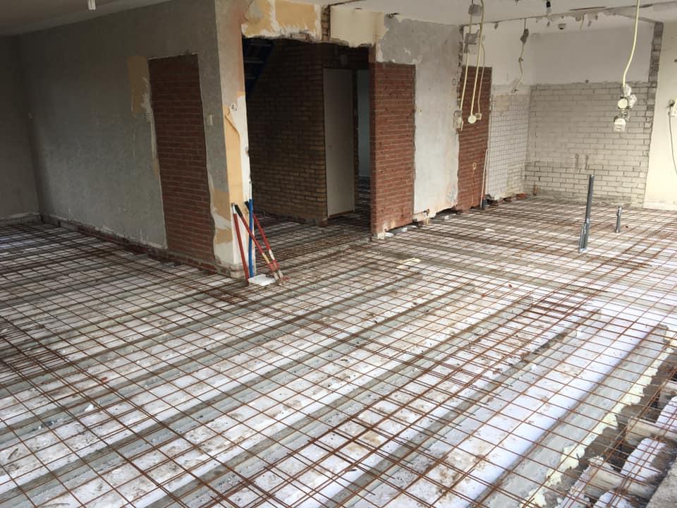Timmerbedrijf Louwes Vloer constructie
